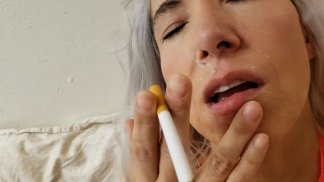 Complete smoking sex with cum play 50