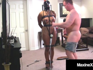 Mommy bound fucked from behind...