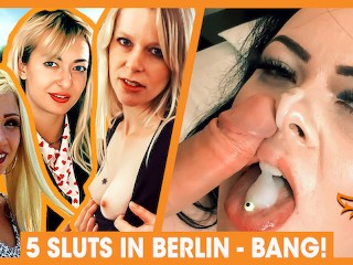 TOP 5 Hottest Fuck Dates in Berlin with German girls! WolfWagner.Love