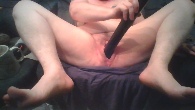 Having sex title object object Bitch having an orgasm on huge black dildo stretching her pussy and tits