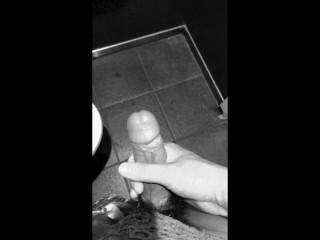 Masturbation in the toilet