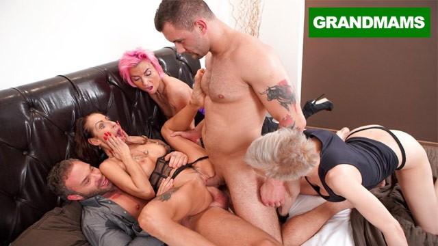 Pornstar dp videos Hottest grannies dp theres no tomorrow