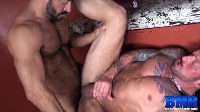 BREEDMERAW Vinnie Stefano Pounds Inked Stud After Rimming