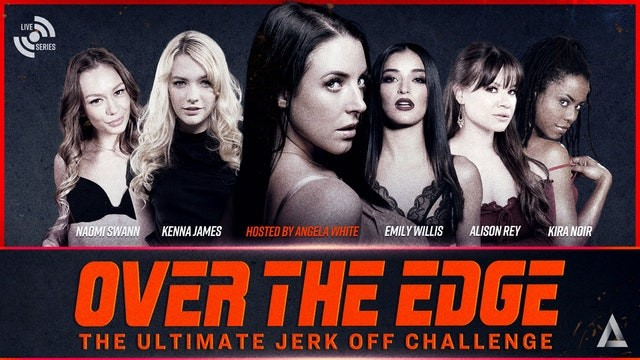 Adult web hosting review Adult time angela white hosts over the edge jerk off edging challenge