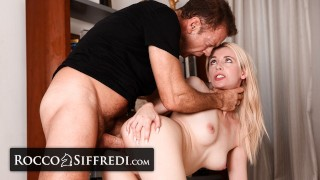 RoccoSiffredi Rough Anal Casting For Julia Rain