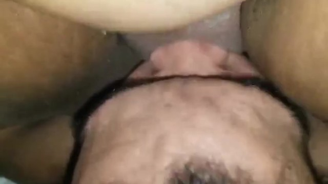 Sucking and tongue fucking her phat pussy awhile she ride my face 14