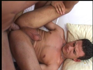 And horny twink have passional bed...