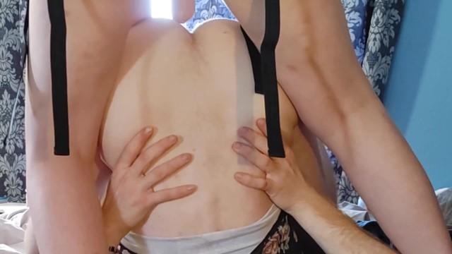 Cross dressers cum galleries movie clip Cross dresser pegged hard by femdom