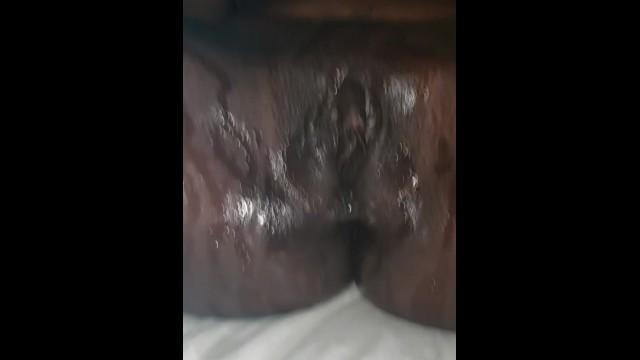 Sexy ebony squirting 46