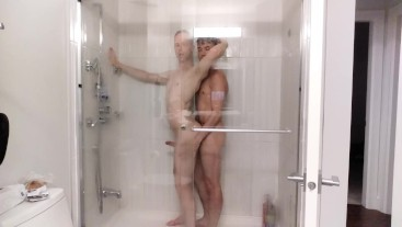Bareback shower scene preview with Levi Ryder #YouTuber #knox #Canada #BB