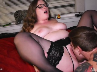 Allyson bettie loves getting her tight pussy licked...
