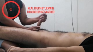 Pinoy hairy twink first lingam expirience (Realtouch Lingamist)