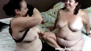 Sexy BBW Gets Fingered by Her Girlfriend Summer - PREVIEW