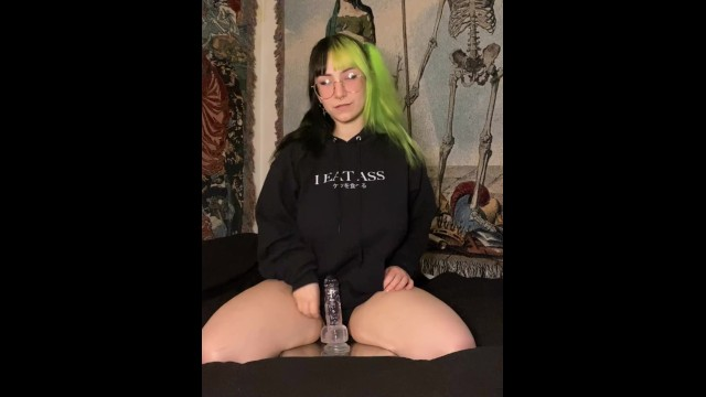 Male orgasm source Bigtittygothegg riding