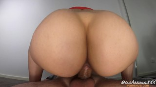 He Can't Last 3 Minutes When I Ride His Cock - CREAMPIE 4K