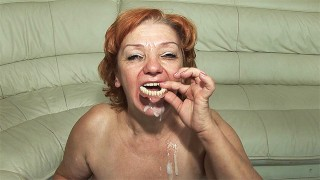 74 years old toothless milffucked