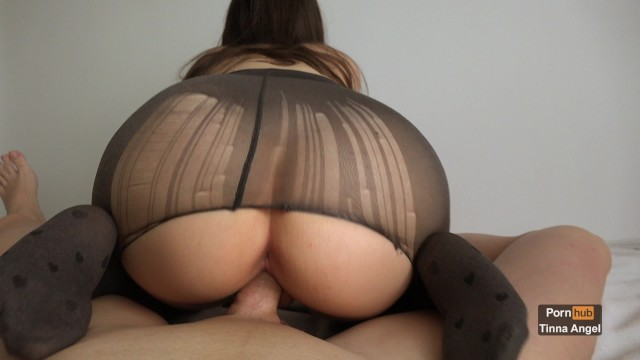 Petite Babe Fucked In Her Ripped Pantyhose Until She Squirts 4K 19