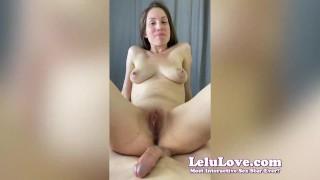BehindScenes PORN VLOG w/ creampies cock rating fingering more - Lelu Love