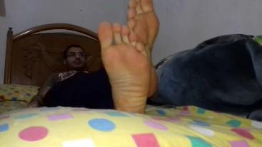 Wonderful Feet Soles With Wonderful Guy