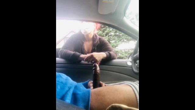 Sir walnut porn Bbc dick flash stroking in car during quarantine gets caught