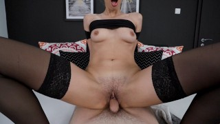 I Fuck A Fanboy For The First Time And He Cums Inside Me