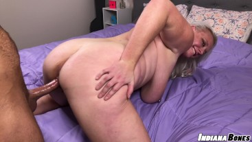 BBW Blonde Big Tit Housewife Cameron Skye Gets Boned