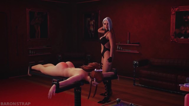 Denby ash nude Ashe dominates brigitte