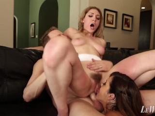 Married Couple Anal Hazing Nasty Threesome Sluts