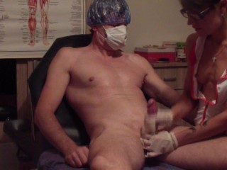 RRUSSIAN DOCTOR GIVES FIRST LECTURE ABOUT MEN´S SEXUALITY 2 - ejaculation