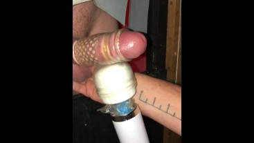 Hung Gloryhole Start to Finish - Great cock.