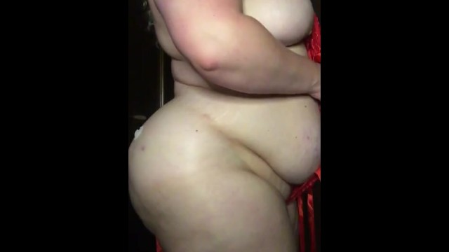 Showing off my curves 16