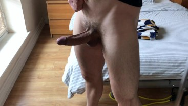 Guy Talk Dirty While Jerk His Fat Cock Off-Moaning Cum 1080p