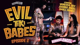 BurningAngel Hot Joanna Angel And Her Tikki Girl Fuck Their Hostage Hard