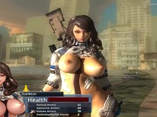 Scarletryx sexy warrior sex game...