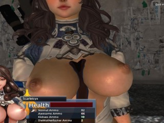 Anime porn girl with big breasts gets fucked...