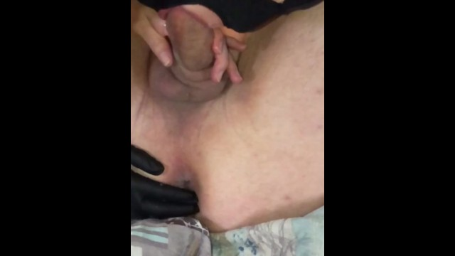 Licking an asshole Wife worships my cock asshole before i creampie in her pussy lick up.