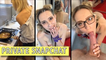 Backstages prepare BDSM sloppy blowjob- Premium Snapchat