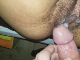 Quick Creampie with Family in Next Room