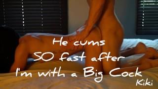 Fuck Husband after Big Cock Cuckold Load