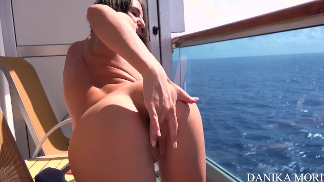 Classic nude portraits Crazy couple doing anal in cruise ships balcony