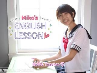 Japanese Schoolgirl Miko Kurozuki Gets Anal Lesson from Teacher (Preview)