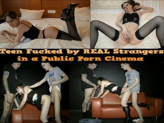 Teen fucked by real strangers cinema...