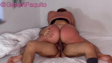 BIG ASS Tanned PAWG slut Fucks harder than a Pornstar HUGE CREAMPIE