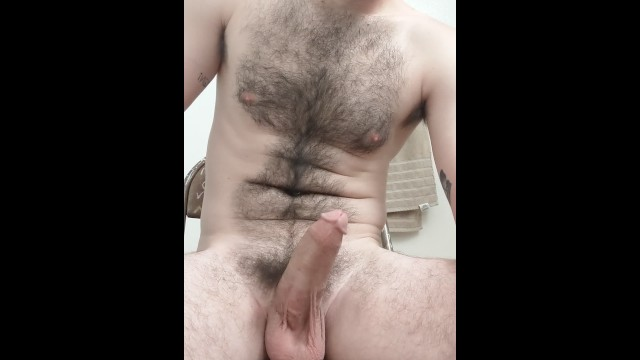 Best hairy chest Feeding you a load while wife is napping
