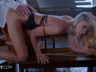 Deeper. Addie gets tied up & fucked by stranger on vacation skinny blonde porn