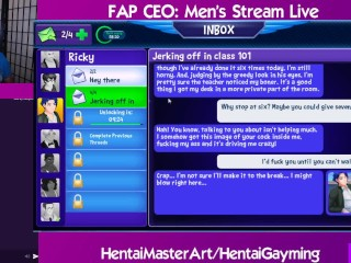 Man in the mirror Fap CEO:Men Stream #8 W/HentaiGayming