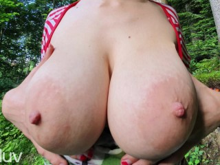 POV Creampie for Busty Gf - Milaluv