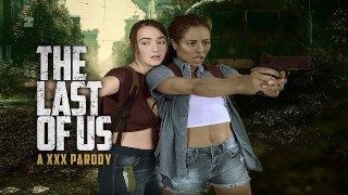 THE LAST OF US Ellie and Riley Threesome in VR XXX Parody
