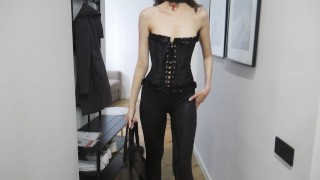 He Called Dominatrix To Fuck His Ass In A Hotel.Mary Cherry