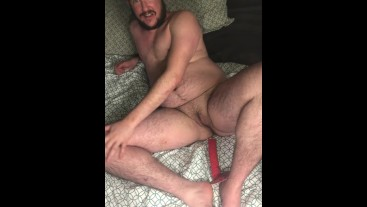 Devlish FTM Eddie Wood Shows of Butt Plug